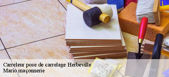 Carreleur pose de carrelage  78580