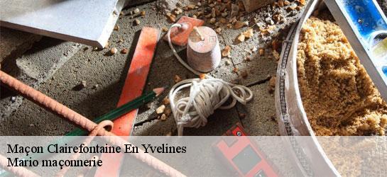 Maçonnerie à Clairefontaine En Yvelines 78120 Tél 01 85